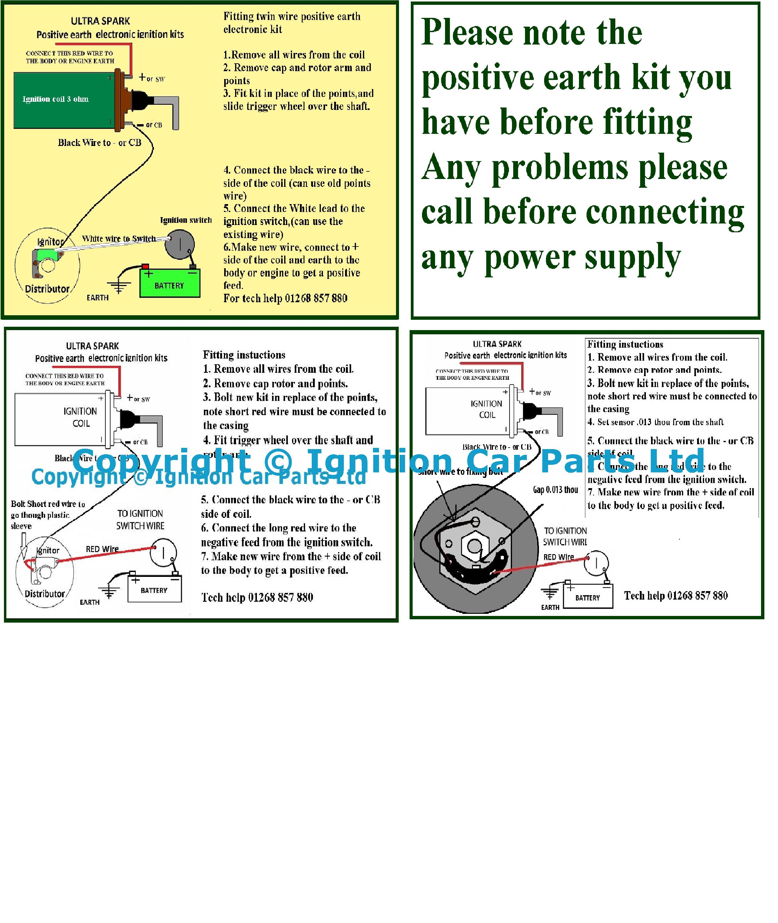 Ignition Problems Help Kreidler Wiring Diagram If You Are Having With Fitting Instructions Of Positive Earth Kits