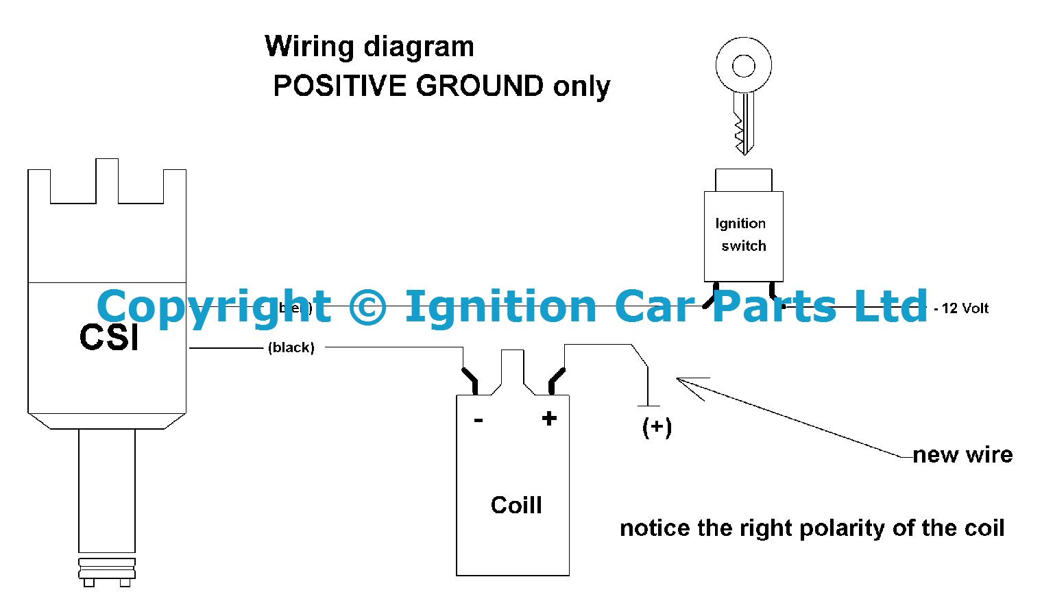 Classic Car Ignition Wiring Diagram Auto Parts