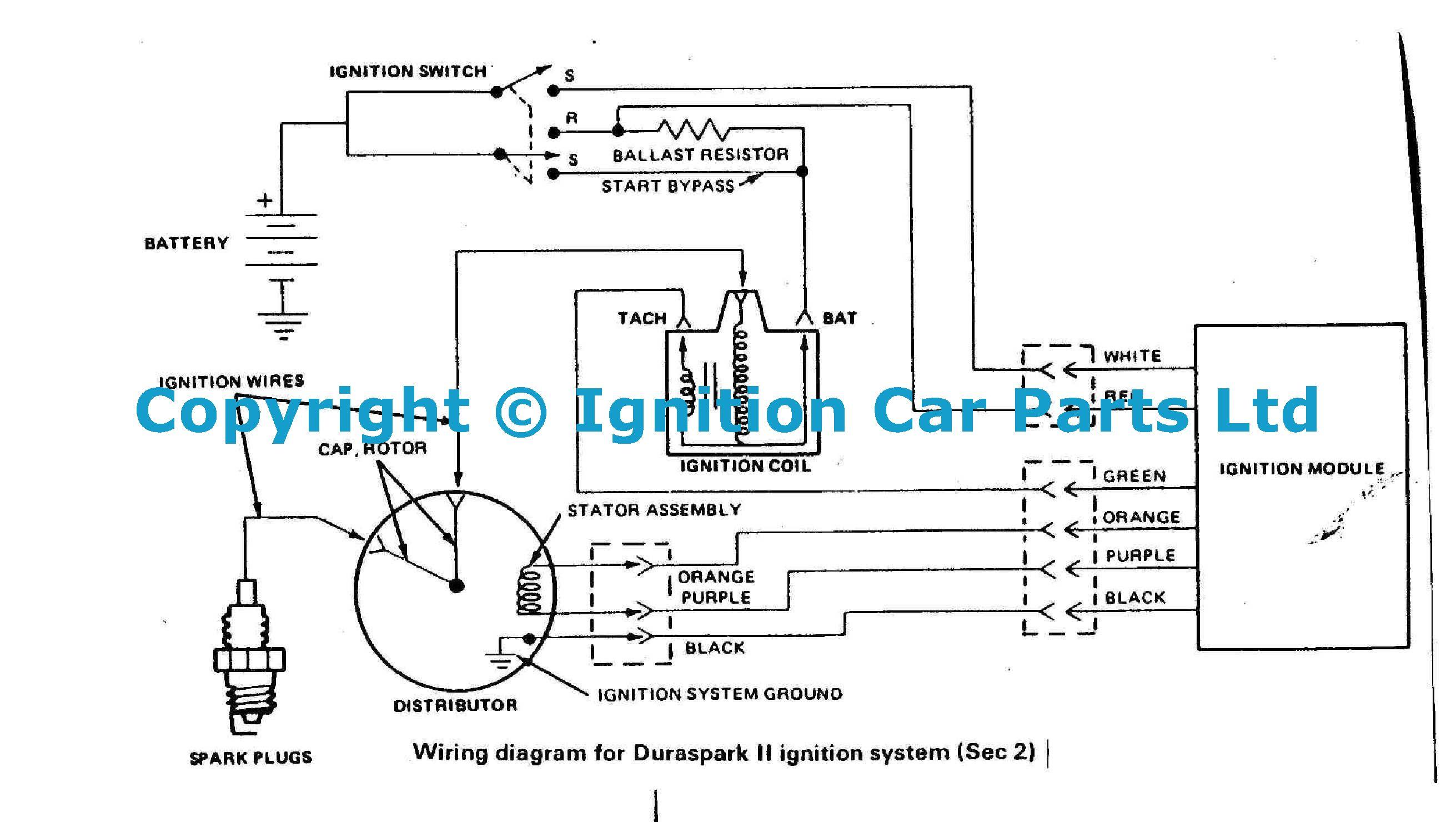 Ignition Problems Help Kreidler Wiring Diagram Ford Pinto Lambda Sensor